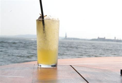 Boat Drinks Tribeca by Grand Banks Nyc Oyster Cocktail Boat Pier 25 Tribeca