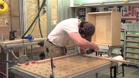 how to make cabinet faces building kitchen cabinets part 20 making face frames for