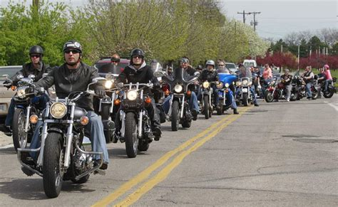 Motorcyclists Hit The Road For Good Causes, Religious