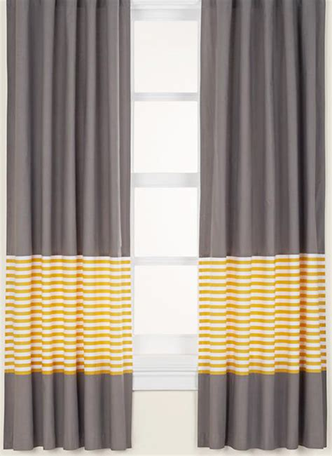 yellow and white curtains for nursery zerbebe nursery odds and ends chezerbey