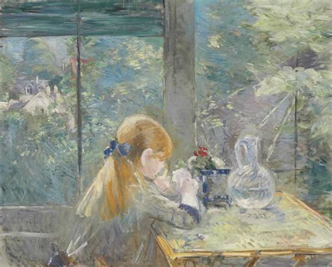 La Berthe Morisot by Berthe Morisot 1841 1895 Dans La V 233 Randa Christie S