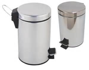 bathroom toilet rubbish pedal bin kitchen 3 litre small