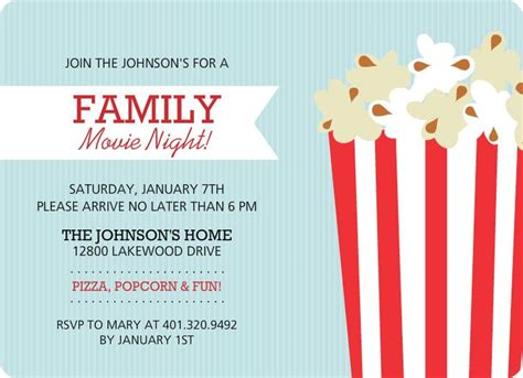 family  night flyer template church  center