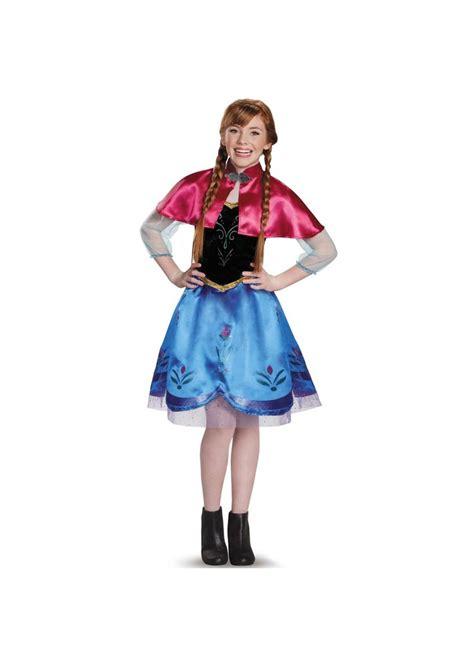 frozen anna girls teen disney costume disney costumes