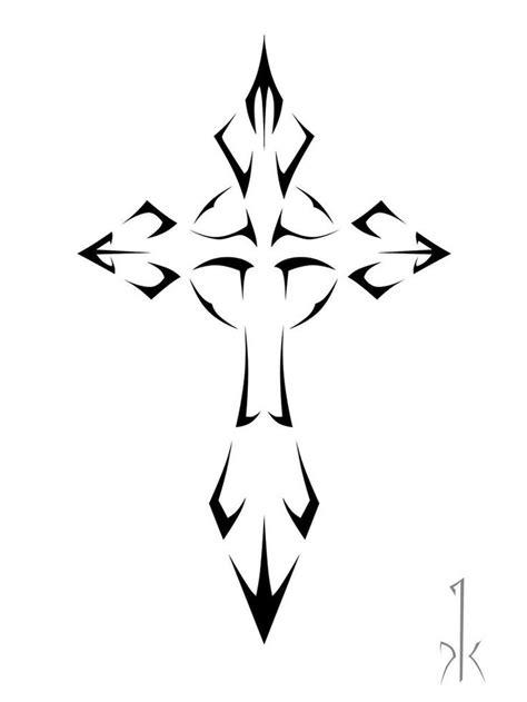 20 best Cross Tribal Tattoo Stencils images on Pinterest | Cross tattoo designs, Crosses and