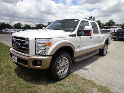 Find new NEW 2013 WHITE PLATNIUM F250 KING RANCH 4X4 in