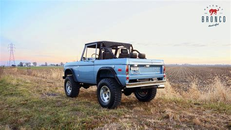 Brand-new Vintage Ford Broncos Are Now Available
