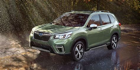 Subaru Forester 2020 Ground Clearance Overview