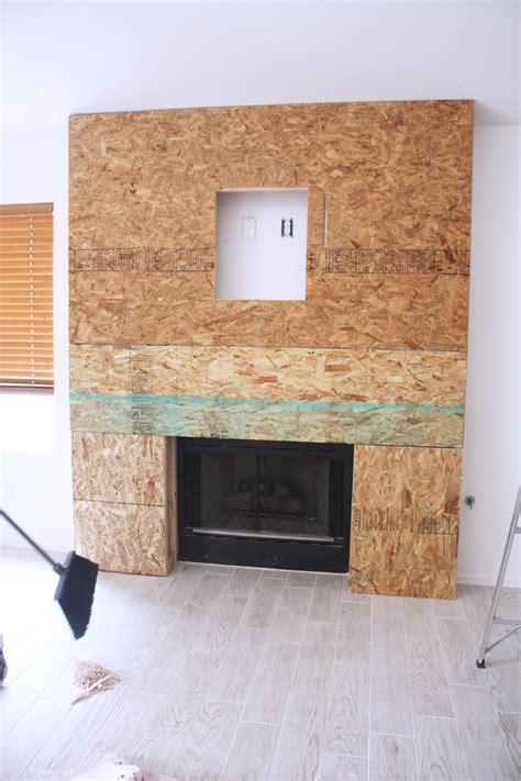 fireplace ideas with tv diy reclaimed wood fireplace kristi murphy diy ideas