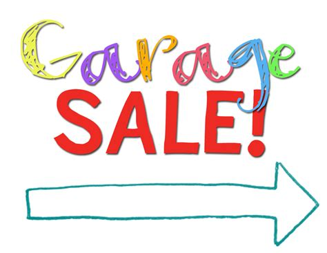 sale signs printable printable garage sale signs