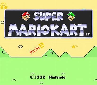 Title Mario Super Kart 1992 Screens Screen