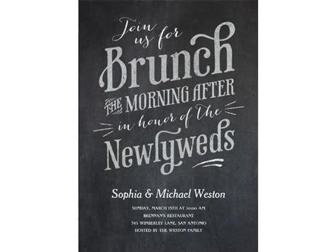 favorite day  wedding brunch invitations