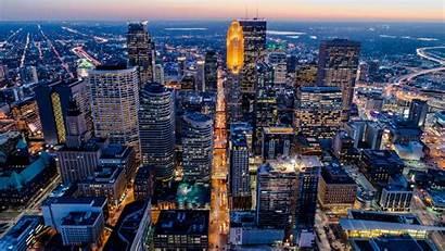 Minneapolis Minnesota Skyline 4k Aerial Paul Downtown