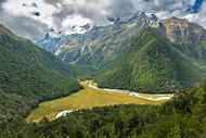 Southern Alps New Zealand Hiking