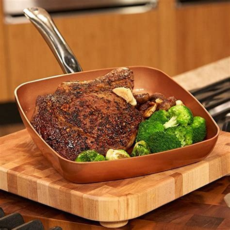 copper chef  square fry pan chinese cooking recipesnet