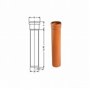 Kg Rohr Material : kg rohr dn250 1000mm 1m abwasserrohr kanalrohr orange ~ Articles-book.com Haus und Dekorationen