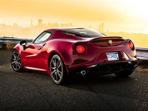 2017 alfa romeo 4c price photos reviews features