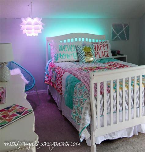 colorful tween bedroom lighting tween room  bedrooms