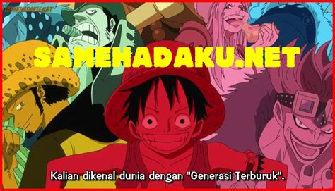 Download Anime Jepang Indo Sub One Piece 589 Subtitle Indonesia Kartun Sub Indonesia