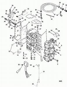 90 Hp Mercury Outboard Parts Diagram