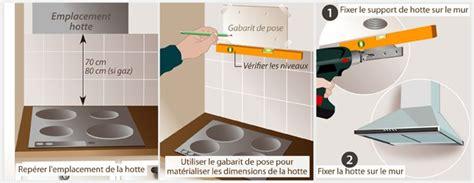 branchement electrique hotte de cuisine comment aménager une kitchenette ooreka