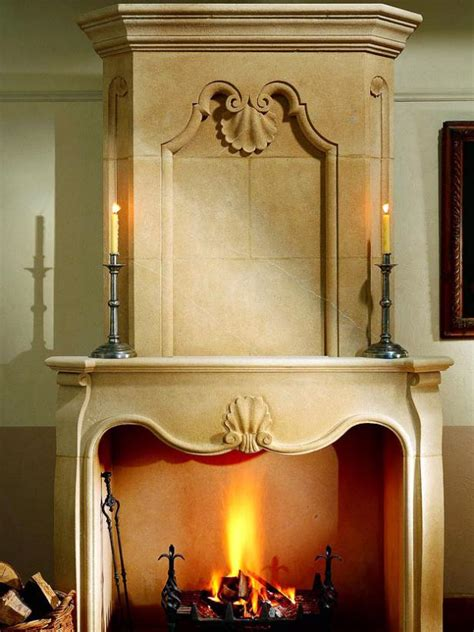 Decorating With Candles Fireplace by Fiery Fireplace Candles Hgtv
