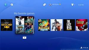 New PS4 Firmware Details Leaked, New User Interface ...
