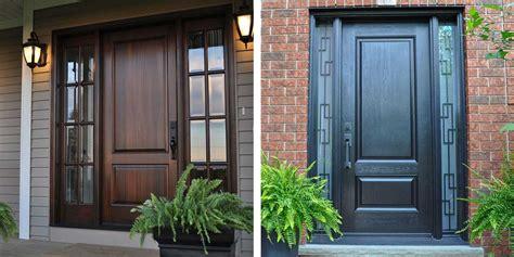 deciding between fiberglass and wood doors