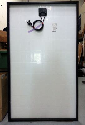 kyocera  watt solar panel fixed frame  mca