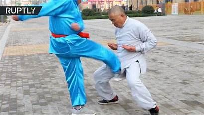 Balls Crotch Fu Kung Iron Master Kicked