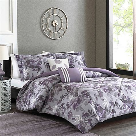 cozy comforter sets cozy soft 174 aura reversible comforter set bed bath beyond