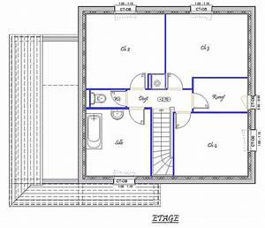 vision 118 m2 type f5 catalogue constructeur maison With plan maison 1 etage 3 chambres