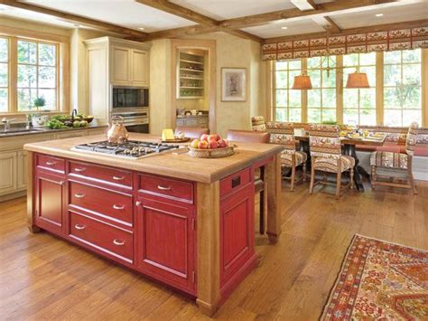 traditional kitchen islands pale yellow country kitchen with large island hgtv