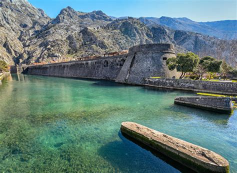 hintergrundbilder montenegro kotor fortress natur gebirge