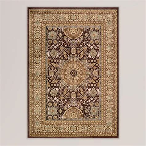 rugs world market brown medallion rug world market