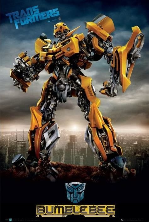 Transformers  Bumblebee City Poster  Sold At Europosters