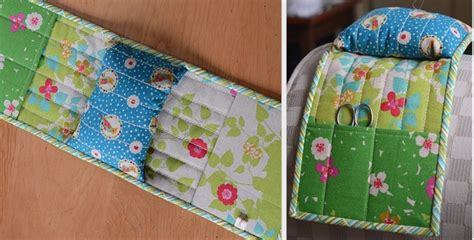 A Pincushion Caddy For Your Favorite Armchair