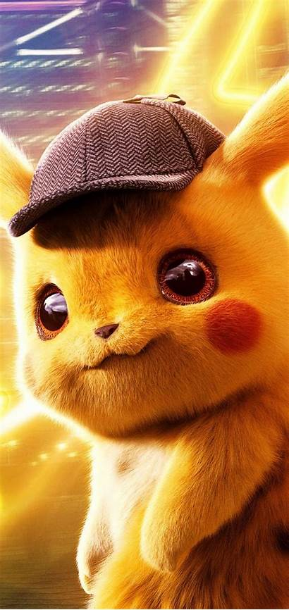 Pikachu Detective Pokemon Wallpapers Phone Son Cartoon
