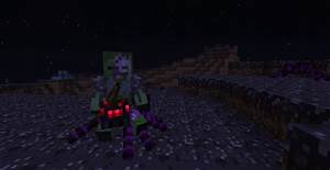 Free coloring pages of minecraft mutant spider
