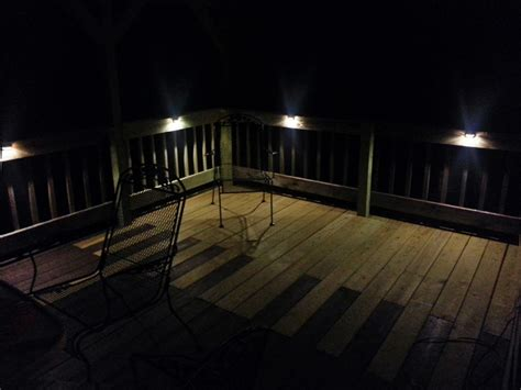 Home Depot Deck Rail Lighting by Led Light Design Led Deck Light Low Voltage Led Deck