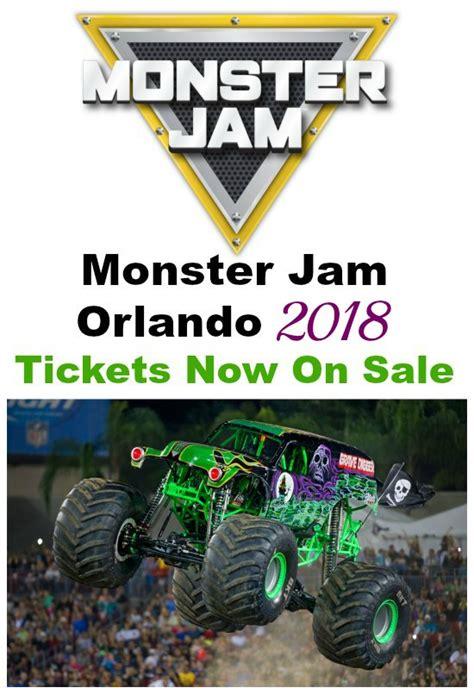 monster truck jam tickets monster jam orlando tickets 2018 monster jam orlando tickets