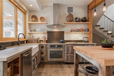 rustic modern kitchen ideas 22 appealing rustic modern kitchen design ideas decor10 blog