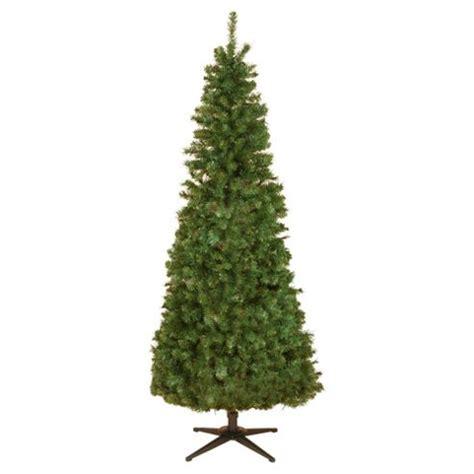 Slimline Christmas Trees Tesco buy tesco 6 5ft evergreen slim pop up christmas tree from
