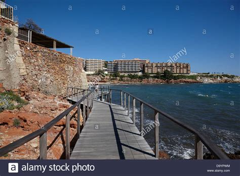 Coastal Path Catalonia Stock Photos