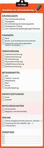 Checkliste Erste Eigene Wohnung : ihre checkliste zur adress nderung beim umzug ~ A.2002-acura-tl-radio.info Haus und Dekorationen