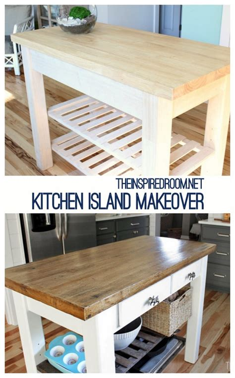 diy kitchen island   unfinished furniture