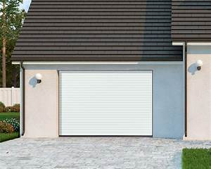 porte de garage enroulable porte de garage pose de porte With porte de garage enroulable avec portes de services pvc