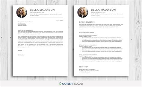 Delete Resume On by 7 Best Free Resume Templates Graphicadi
