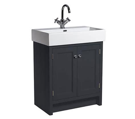 Roper Vanity Unit by Roper Hton 700mm Slate Grey Vanity Unit With
