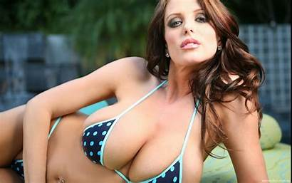 Brandy Robbins Boobs Eyes Brunette Jade Bikini